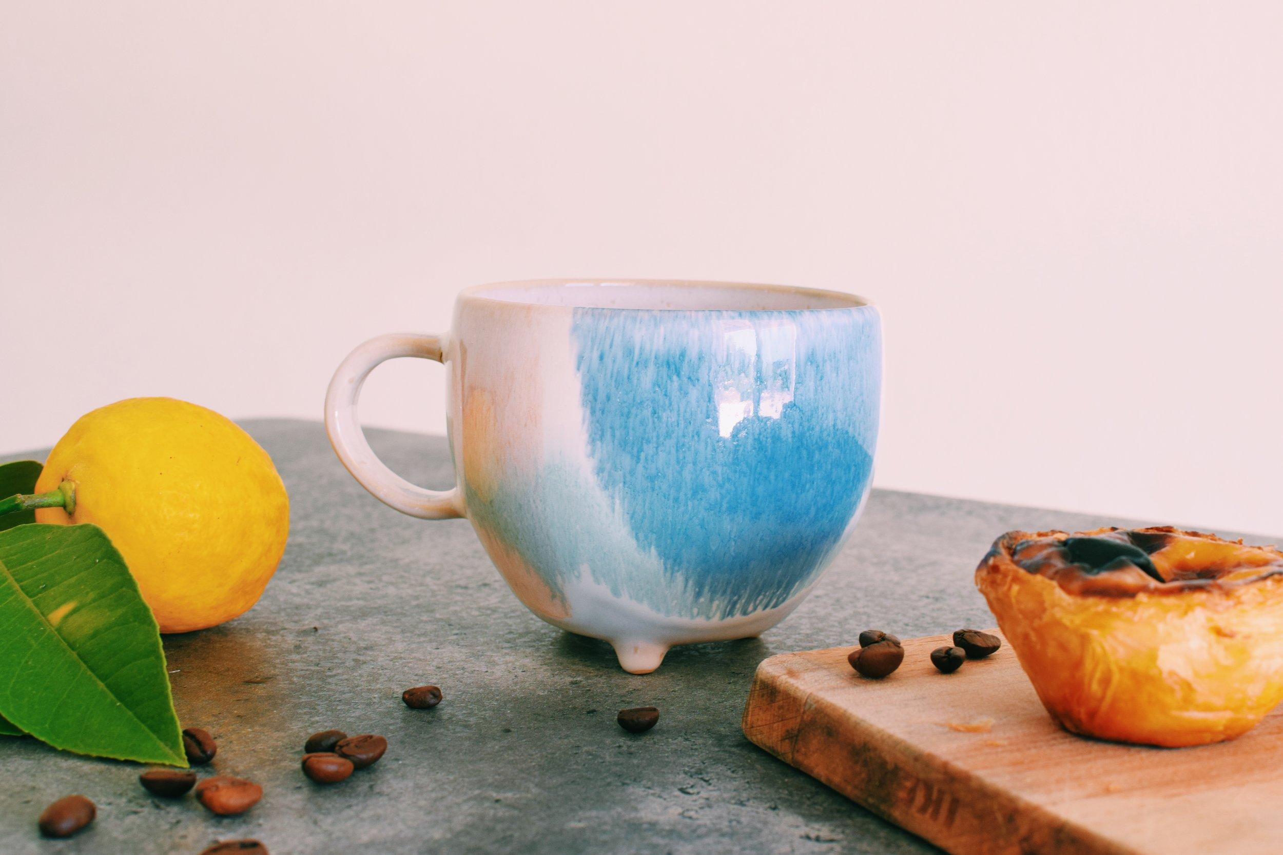 Clara Ceramic Mug handmade in Portugal | Soi 55 Home