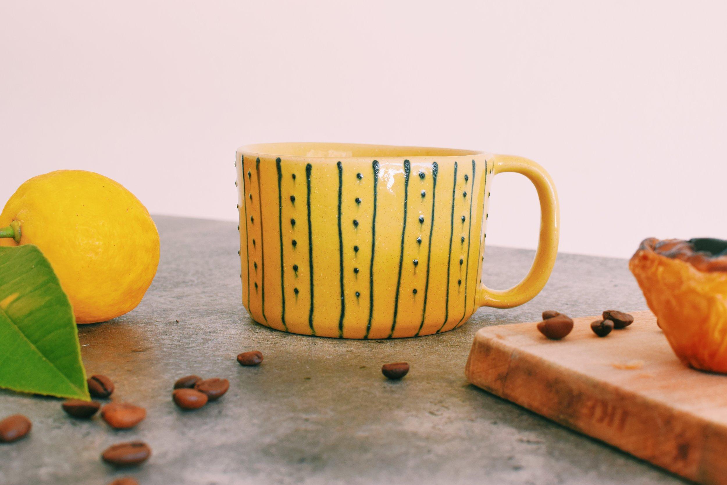 Kiania Ceramic Mug handmade in Portugal | Soi 55 Home