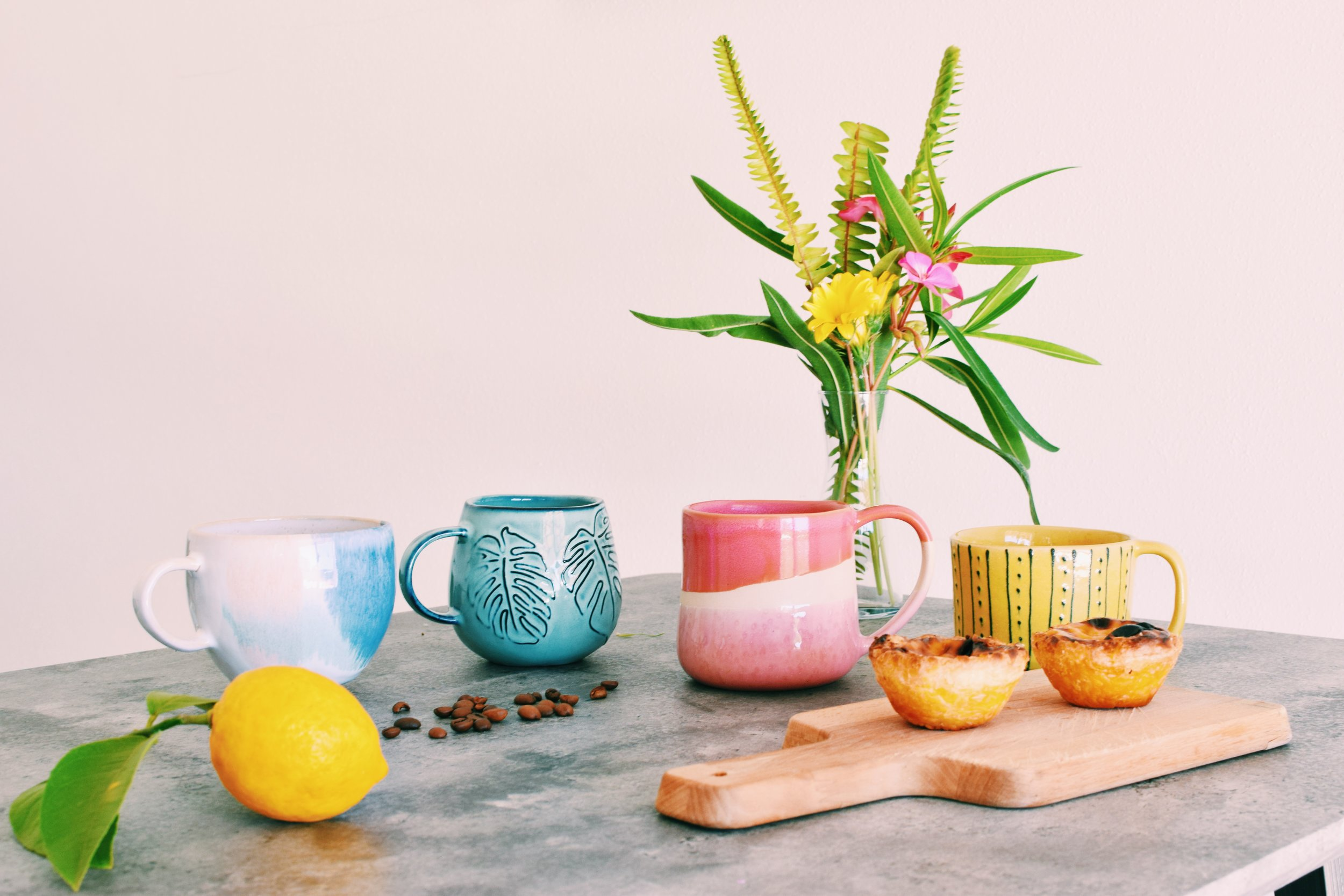 Portuguese Ceramic Mug Collection Soi 55 Home.