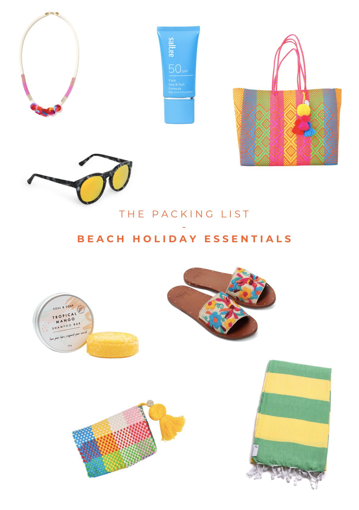 The Packing List / Beach Holiday Essentials   Soi 55