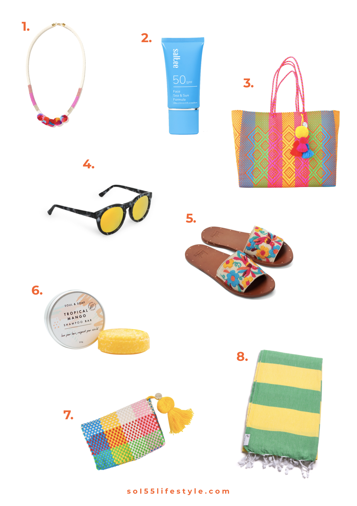 Beach Holiday Essentials / The Packing List   Soi 55