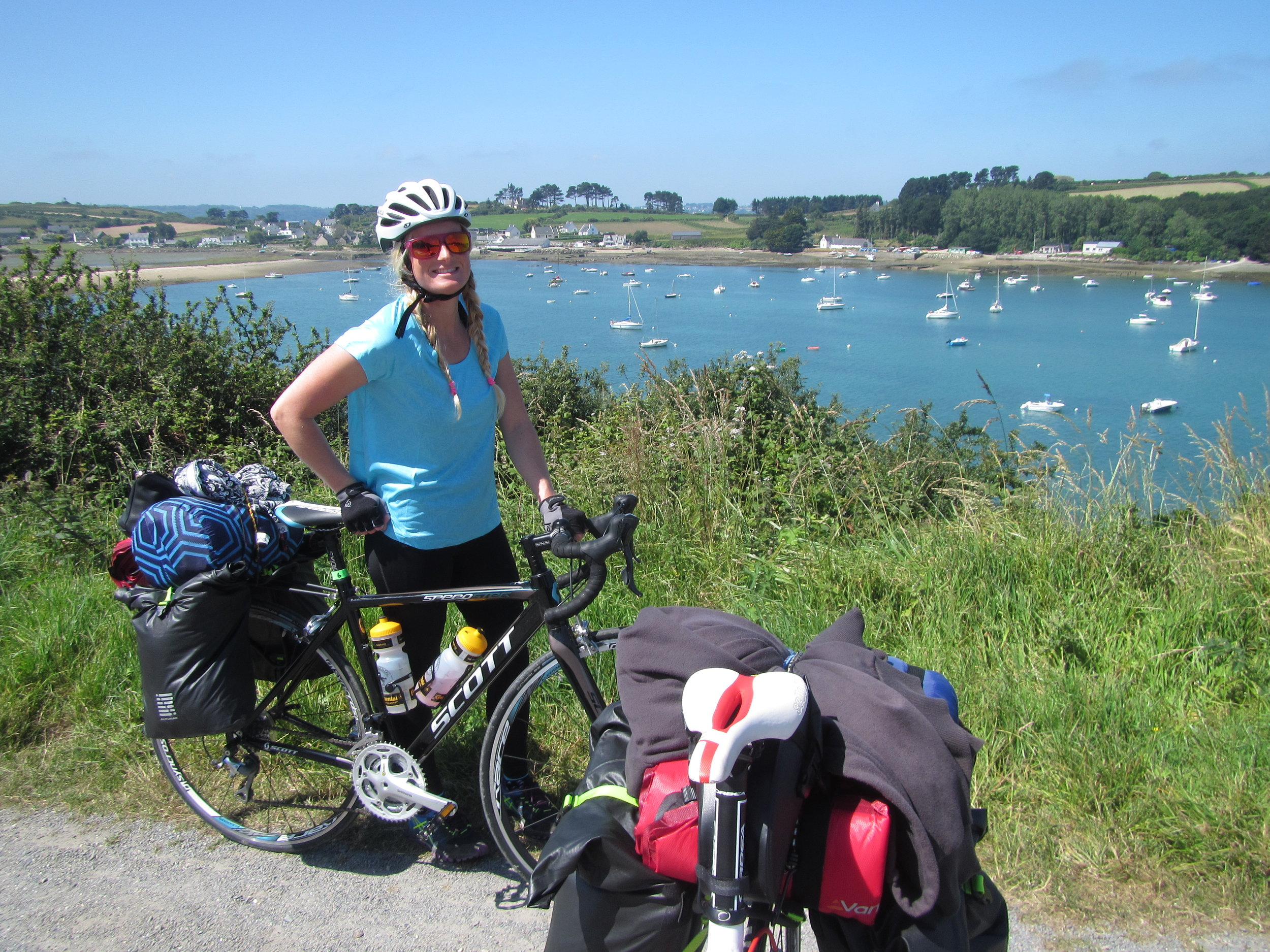 FRANCE | 3 day cycle touring around Brittany. We bought fresh pastries from the bakery every morning, slept in bivvy bags on the beach and cycled through villages we never would have experienced using another form of transport.