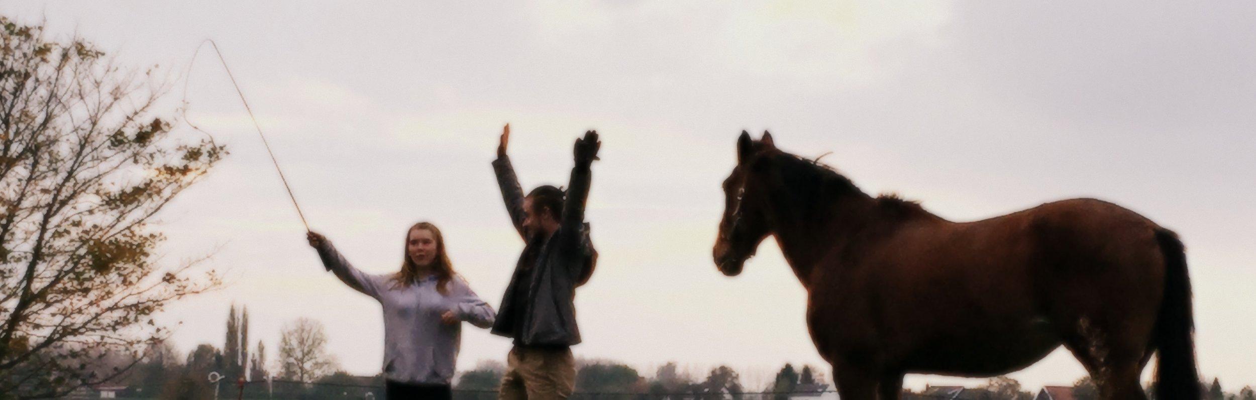 Jason en Bubu leerden me die dag energie op- en afbouwen, ik vond het net dansen!