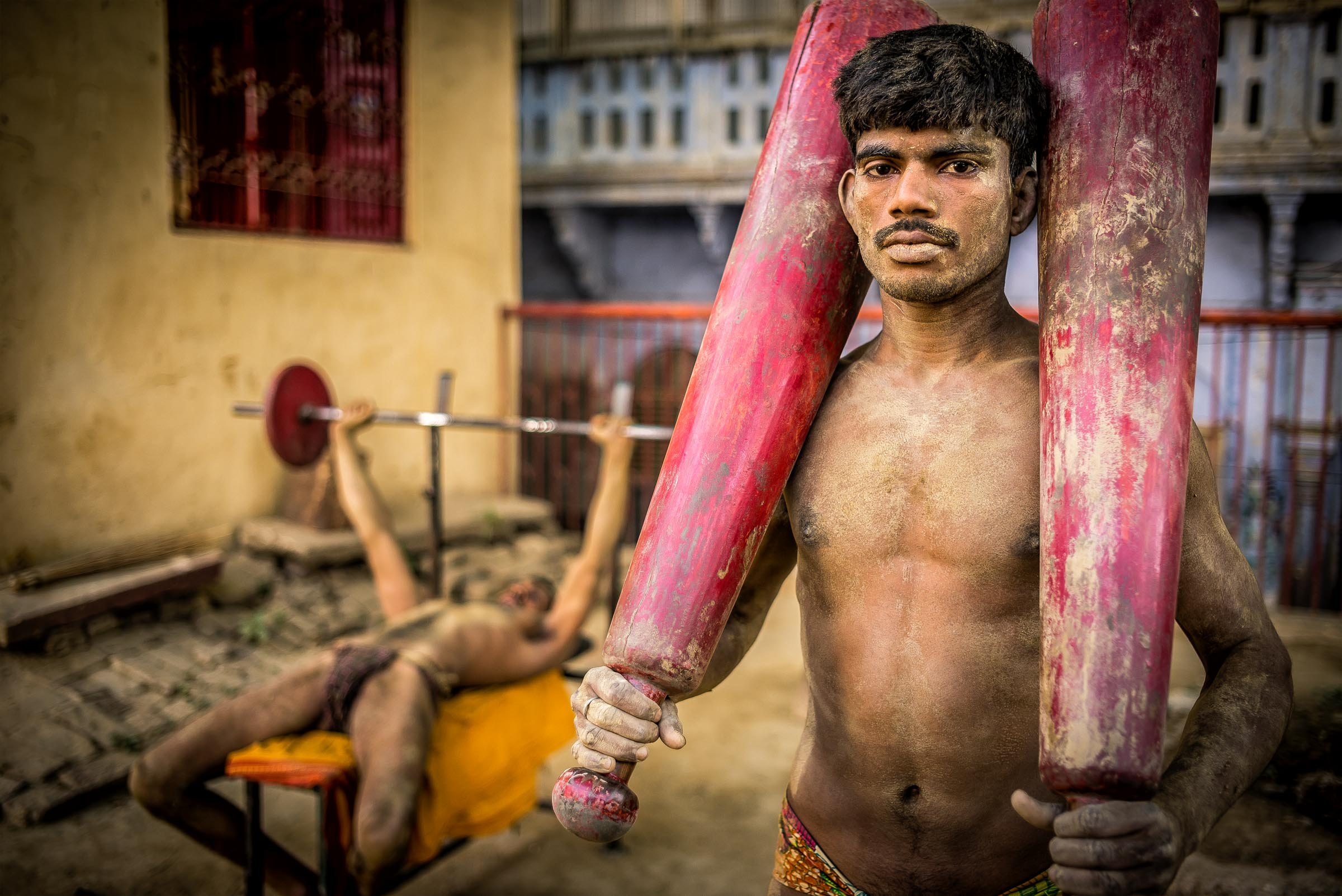 Kushti fighter. Varanasi, India