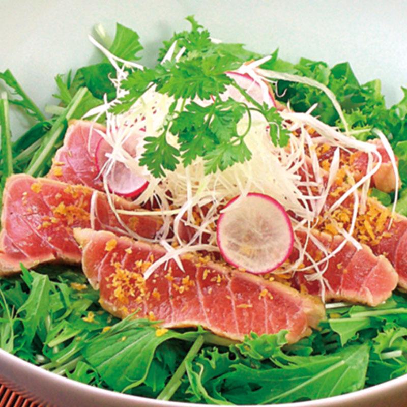 MaguroDonya Singapore | Hon Maguro Chutoro Aburi Salad