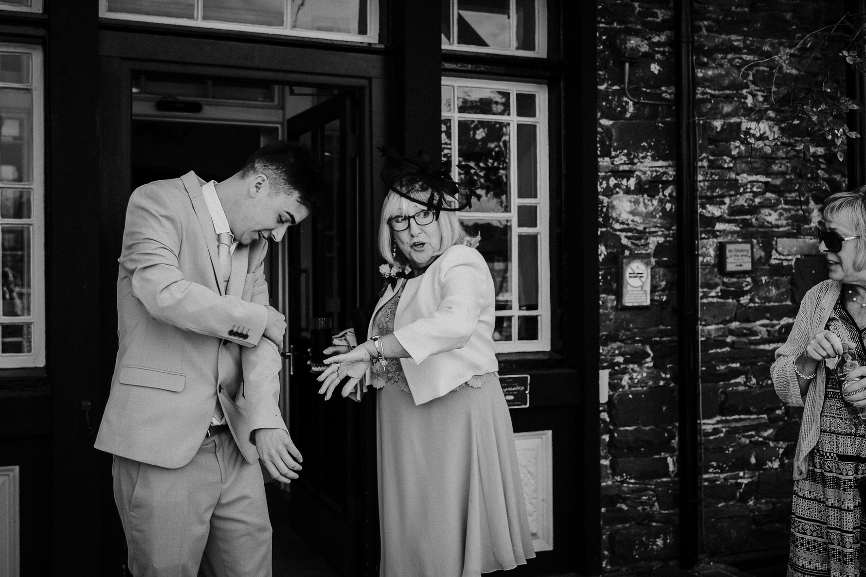 Natural Documentary Wedding Photography at Low Wood Bay in The Lake District - Louise Jacob