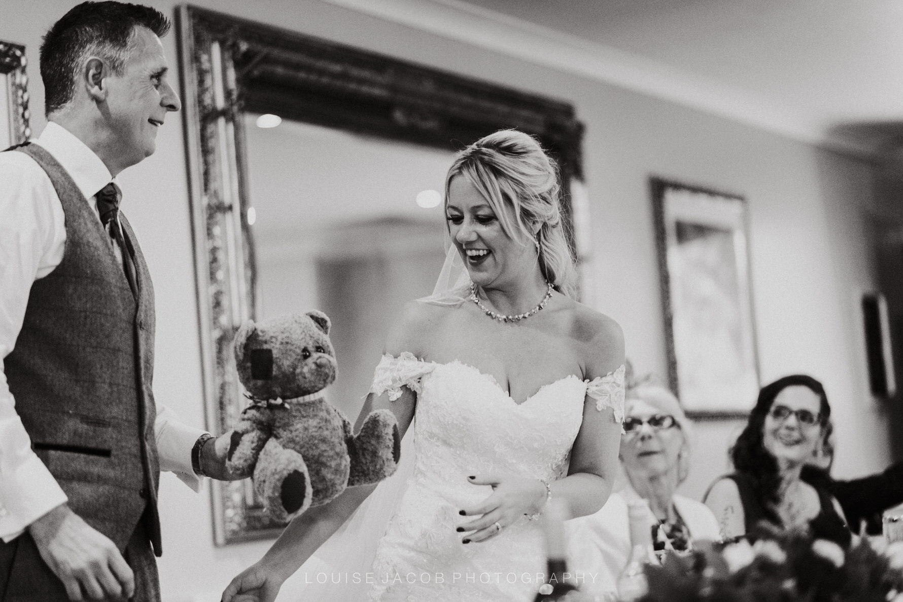 Cheshire Unposed Documentary Wedding Photography at The Stone House Hotel