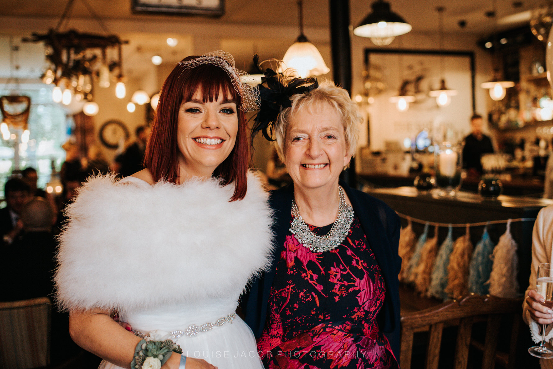 Documentary Wedding Photography - A bride and her mum