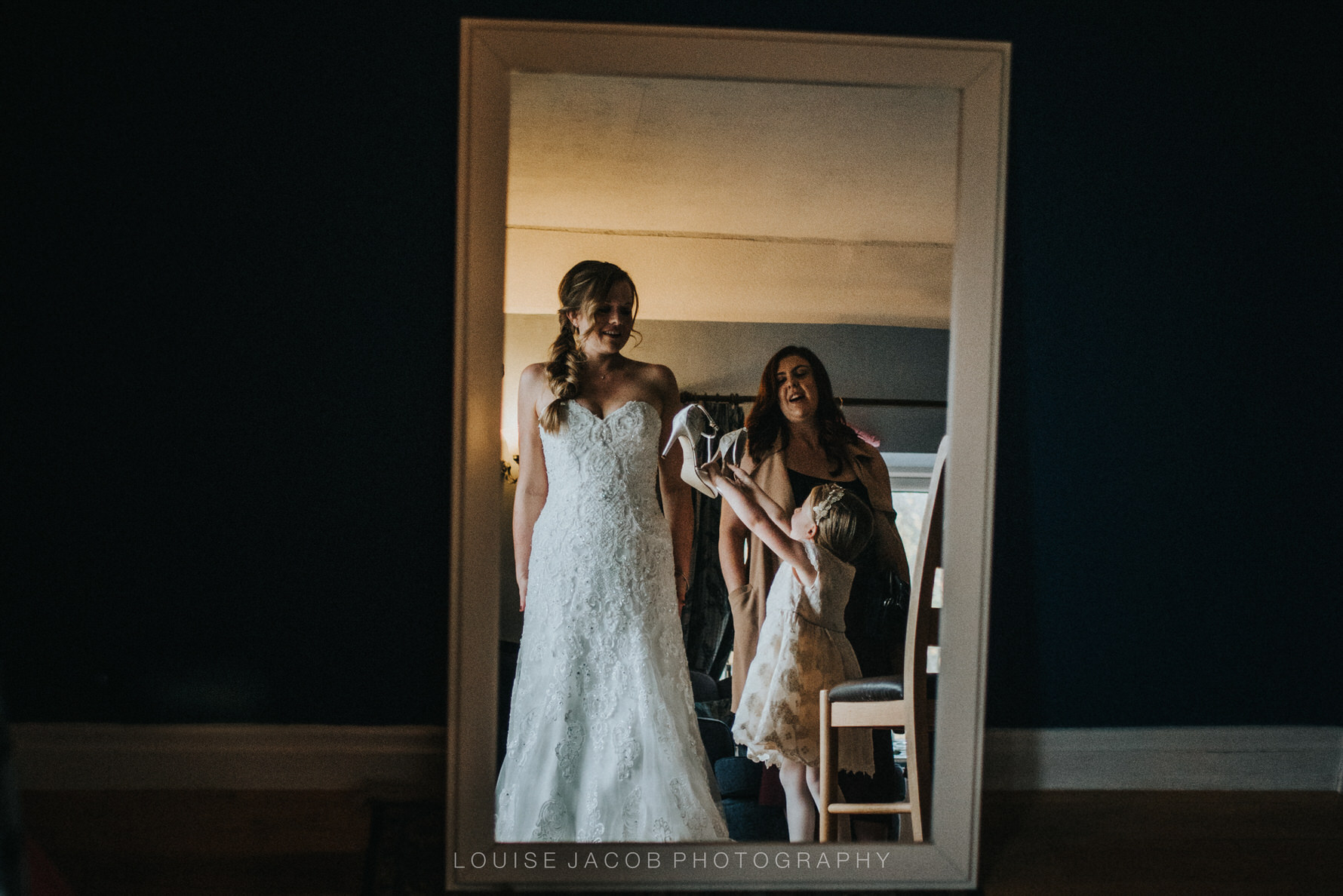 Cheshire Unposed Documentary Wedding Photography at The Red Lion and Manor, Burnsall