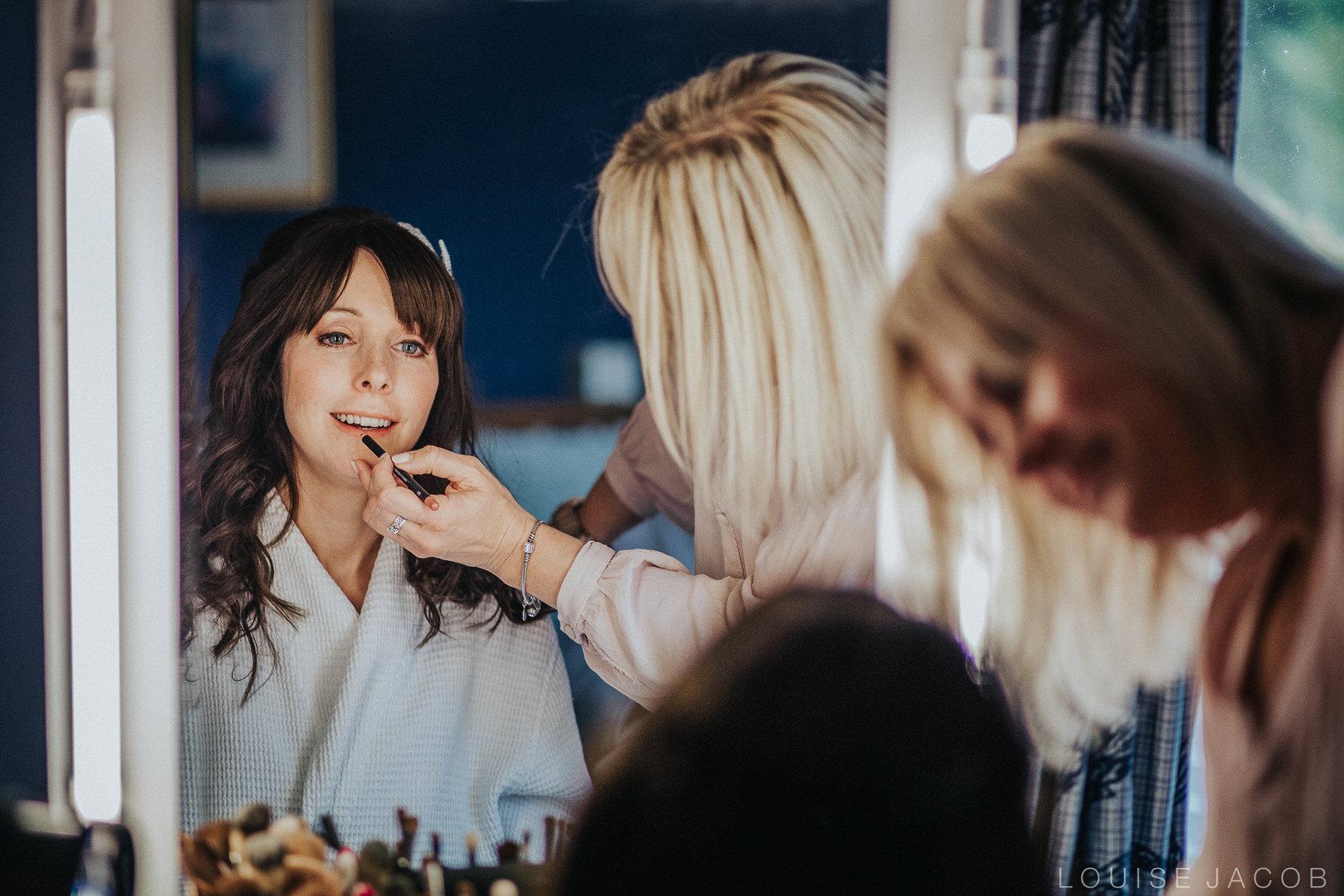 Documentary Wedding Photography bride getting ready
