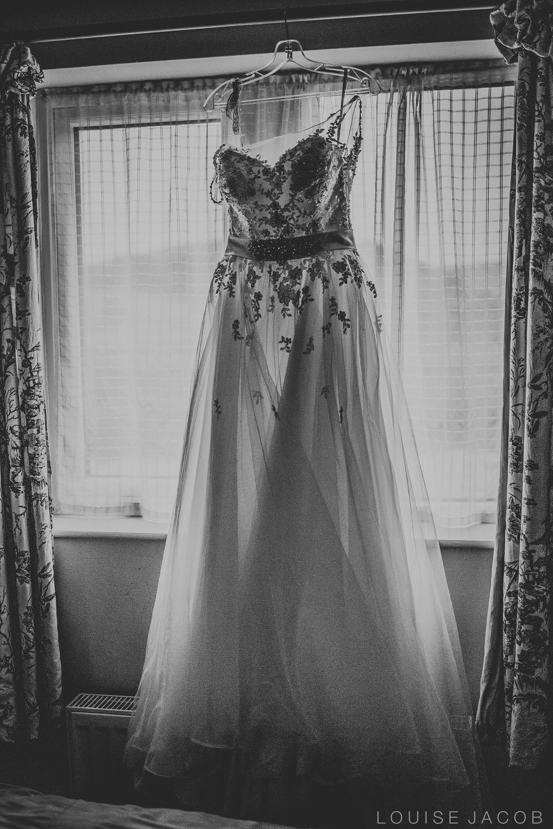 Documentary Wedding Photography wedding dress