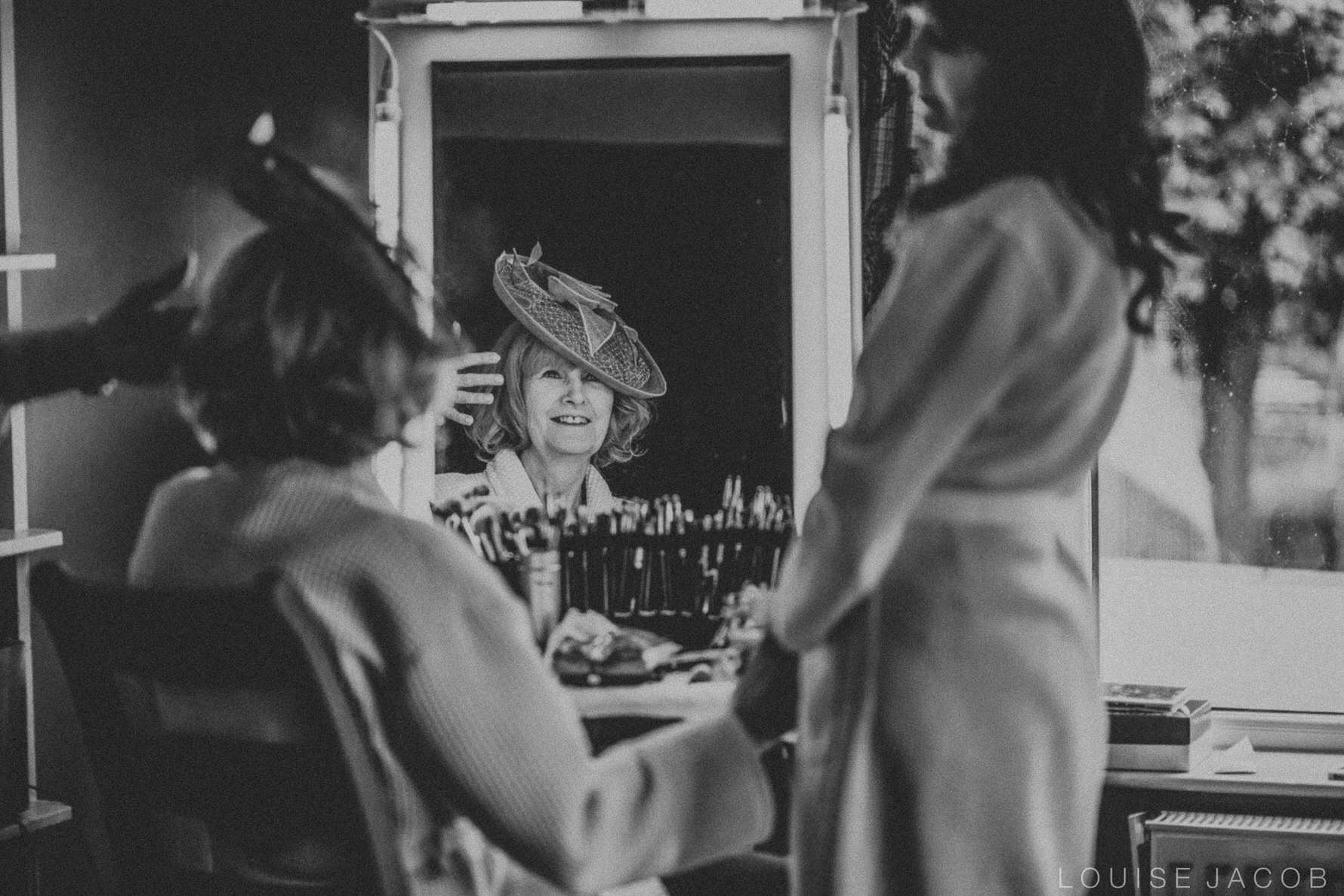 Documentary Wedding Photography mother of the bride