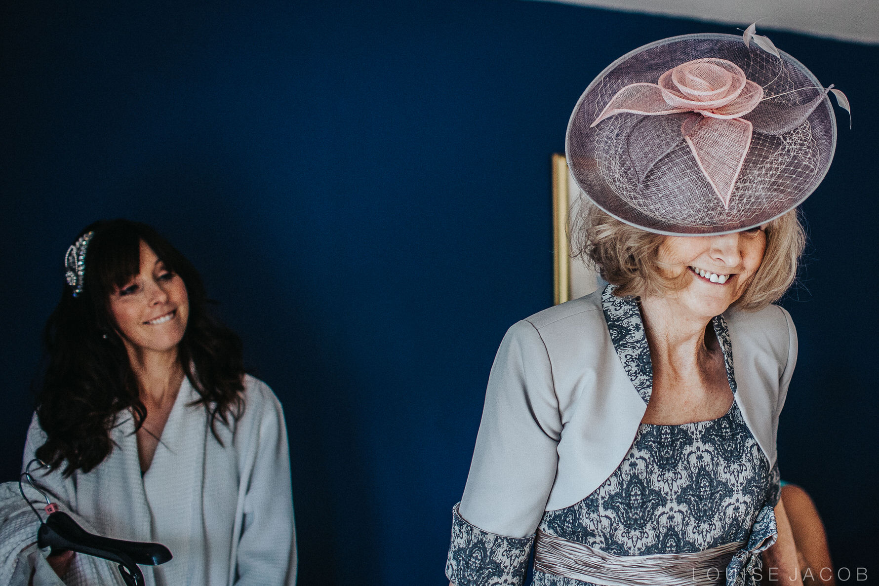 Documentary Wedding Photography bride with her mother