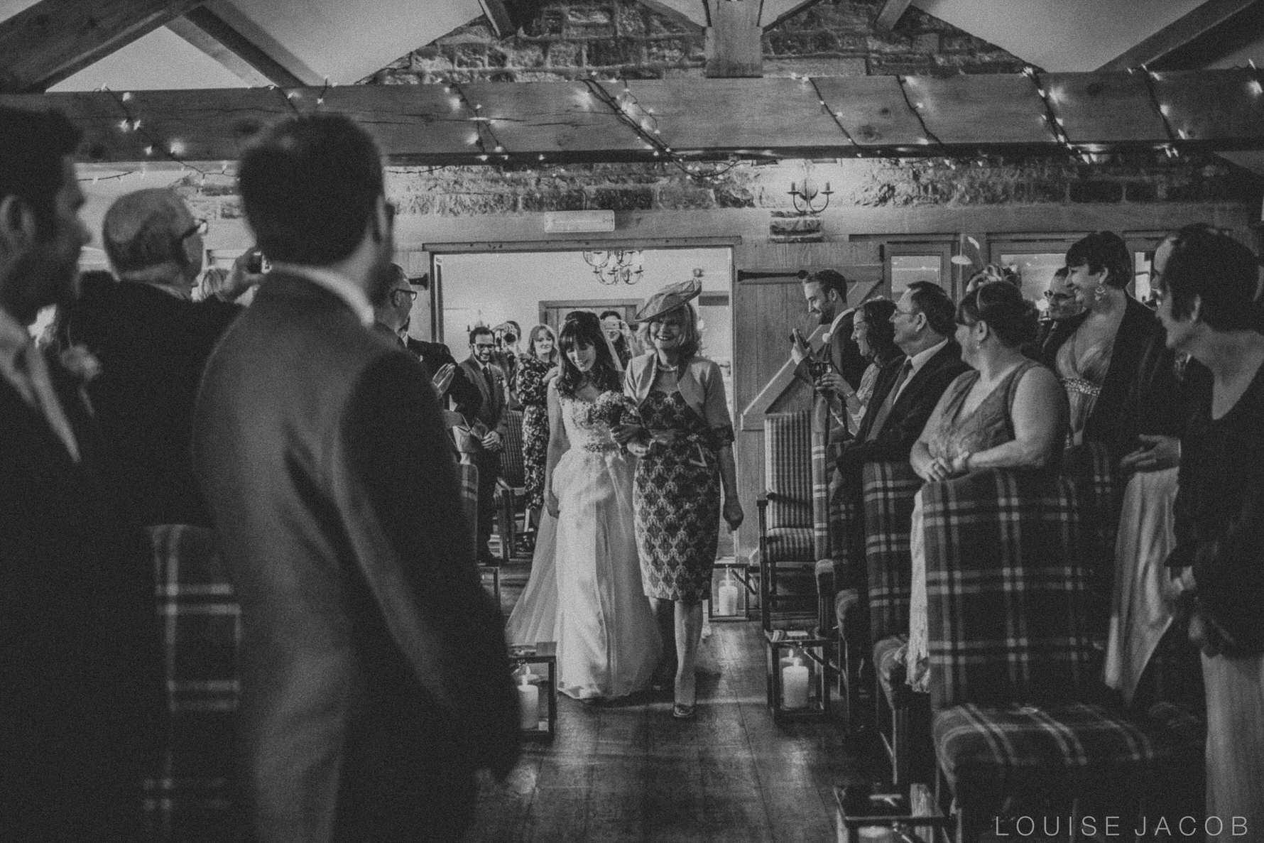 Documentary Wedding Photography Groom sees his bride for the first time