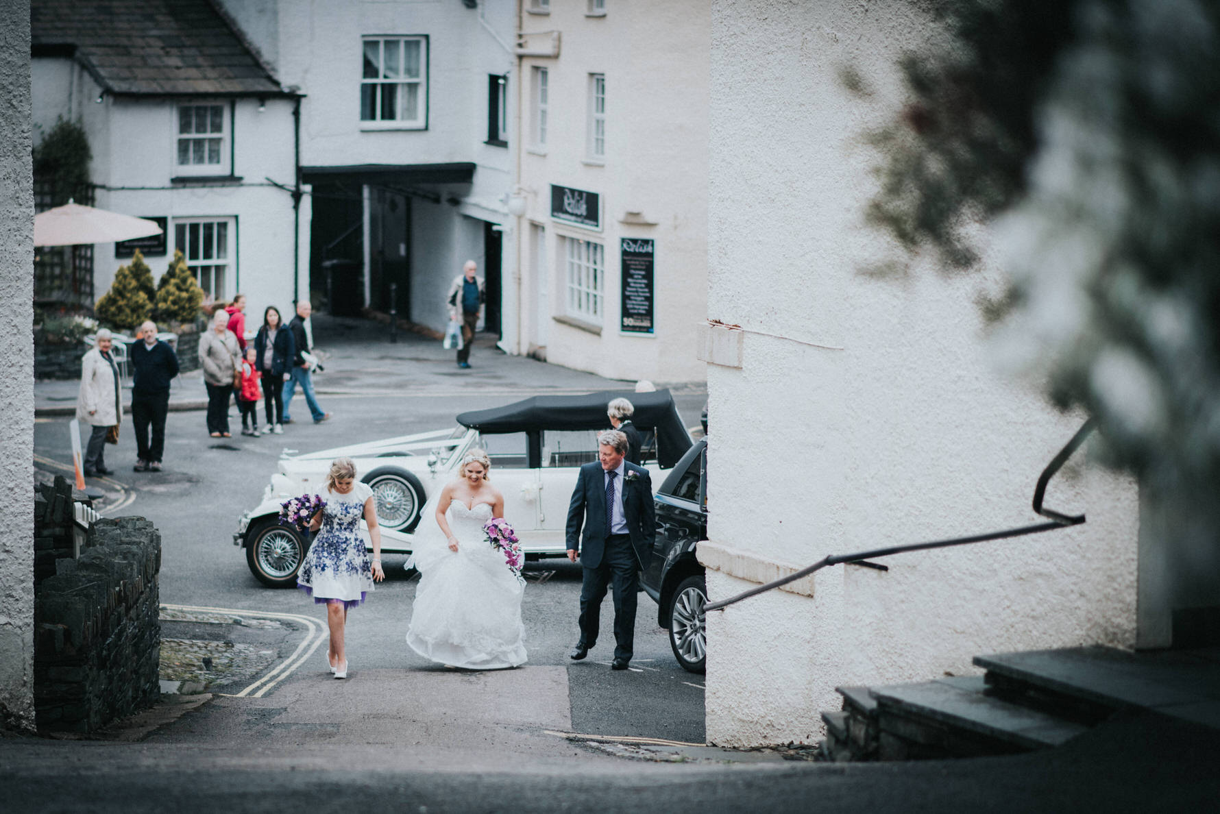 Ceremony by Cheshire Unposed Documentary Wedding photographer Louise Jacob