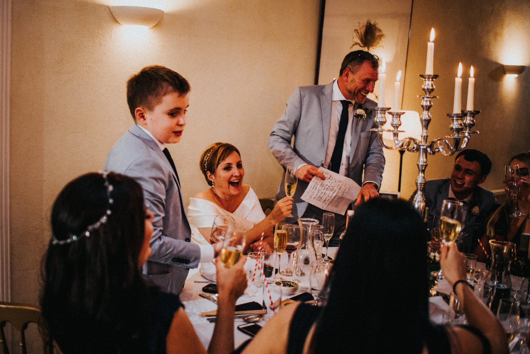 Cheshire Documentary Wedding Photography at Belmount Hall