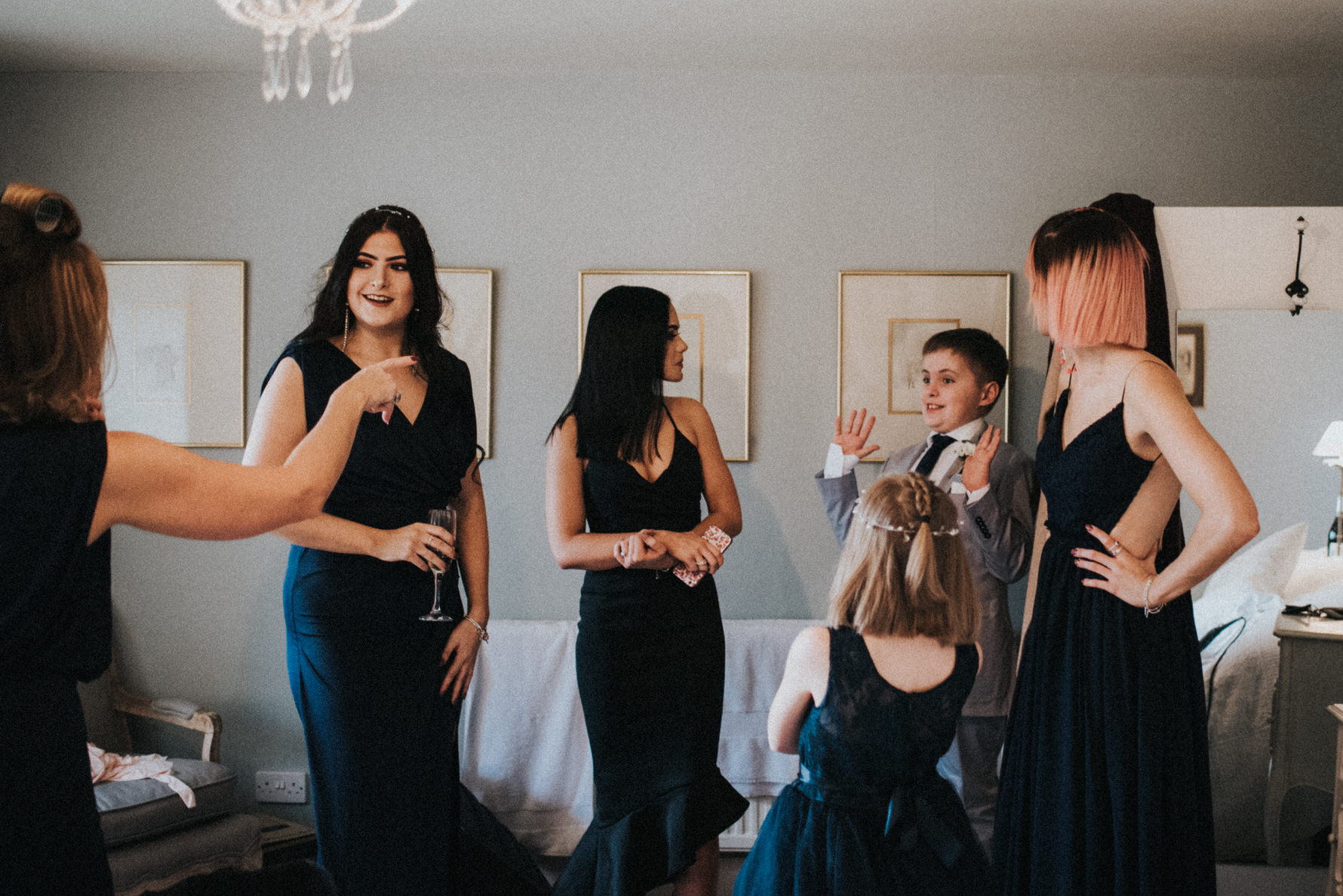 Cheshire Wedding Photography at Belmount Hall in The Lake District