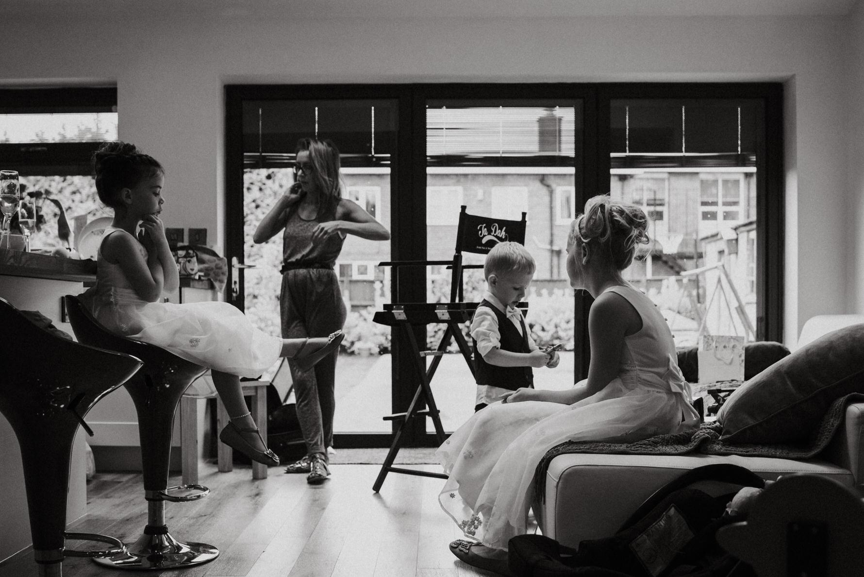 Cheshire Wedding Photography bridal preparations