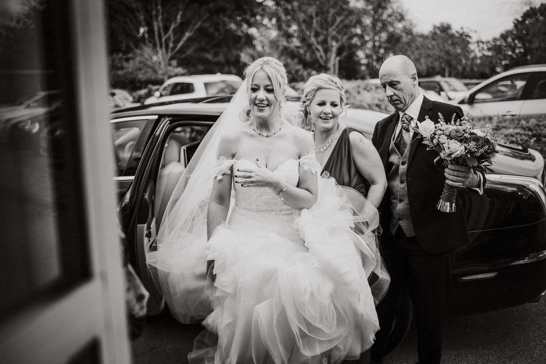 Cheshire Documentary Wedding Photography at The Stone House Hotel