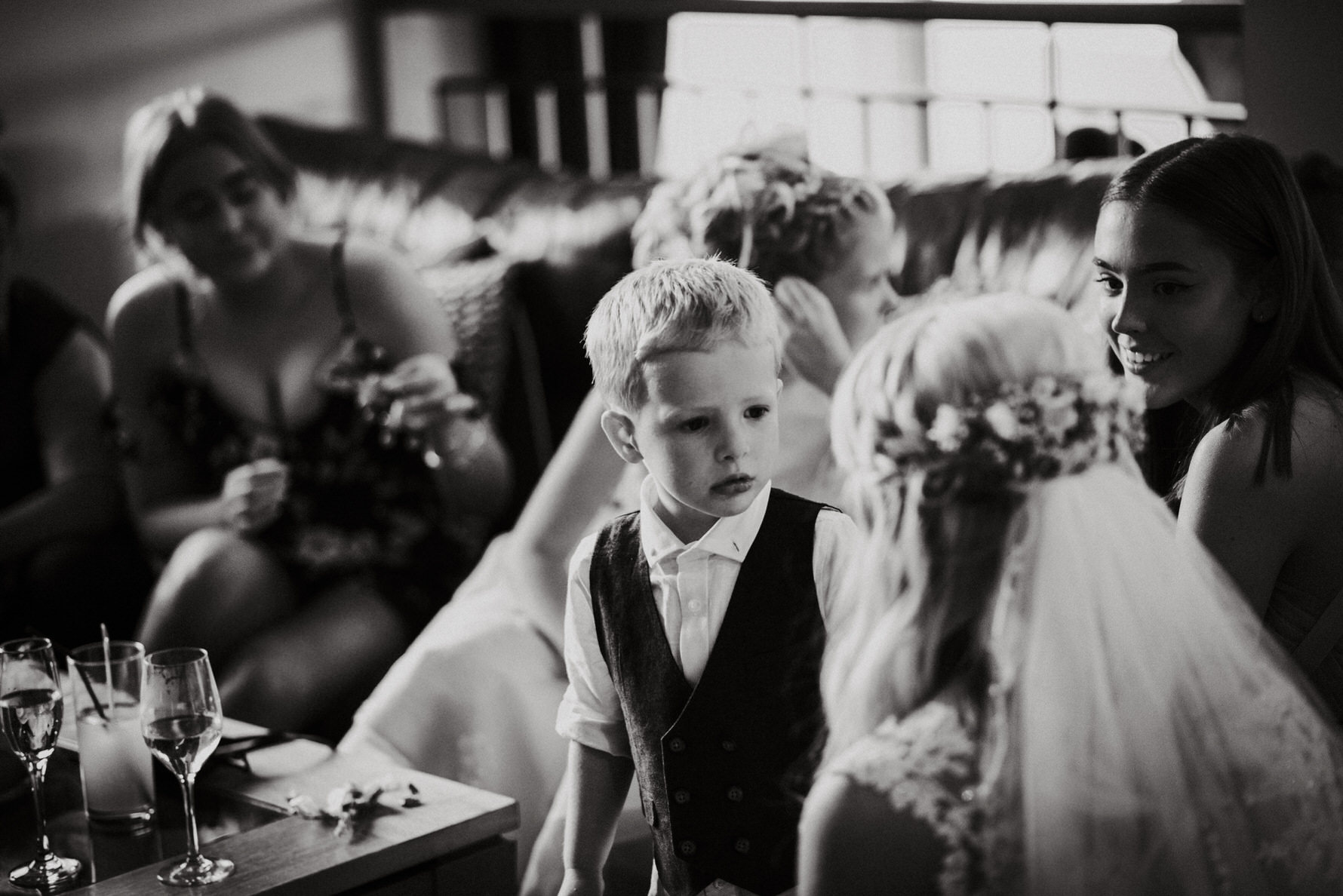 Cheshire Documentary Wedding Photography in Dunham Massey