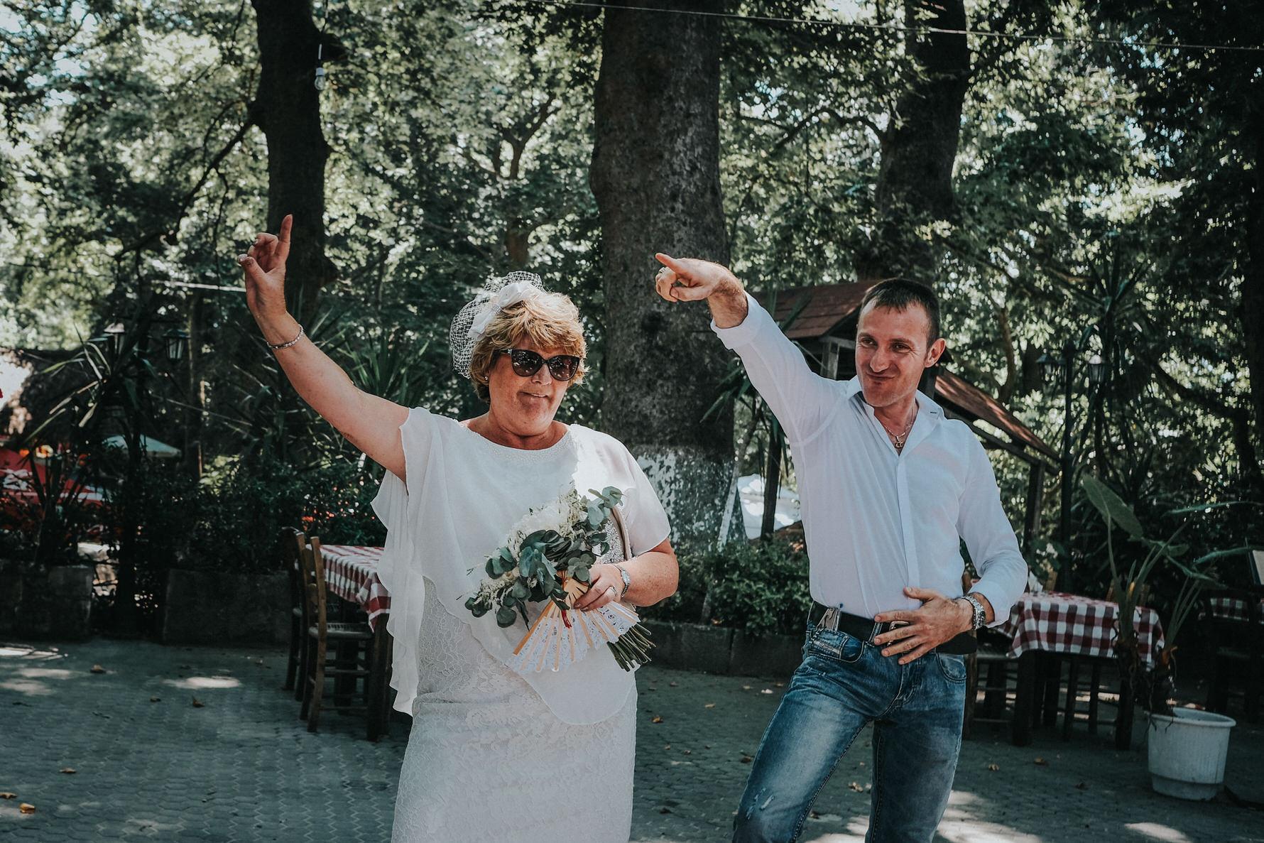 Cheshire Documentary Wedding Photography in Crete