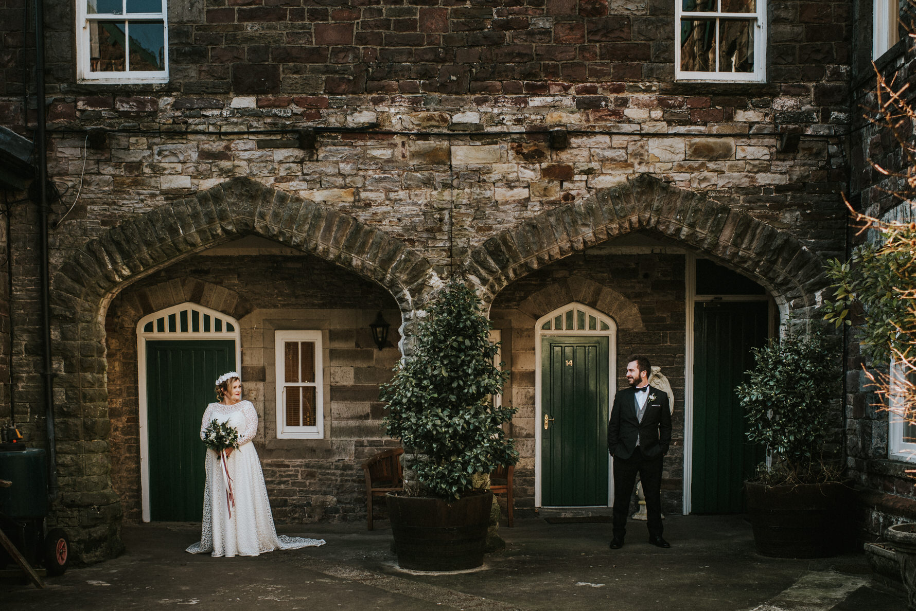 Wedding Photojournalism - Couple portraits