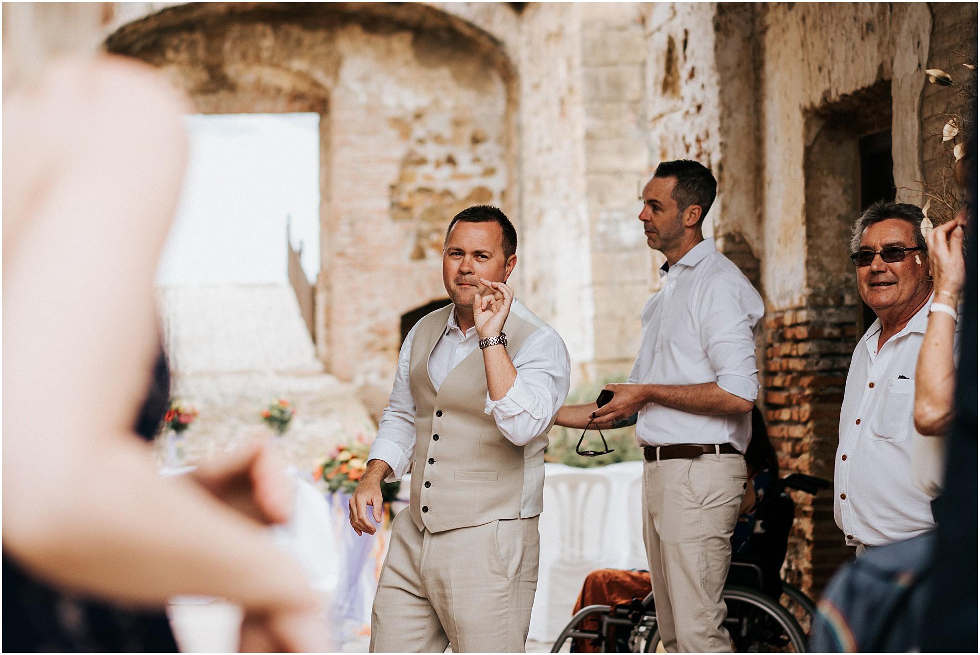 Cheshire Wedding Photography - Castillo Duquesa, Spain