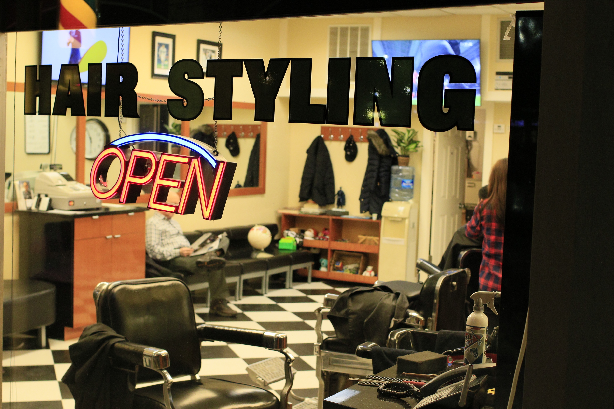 Barber Shop, McLean, VA