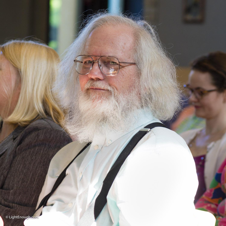 L-R: Rev. Linda Olson Peebles w Husband - David Peebles