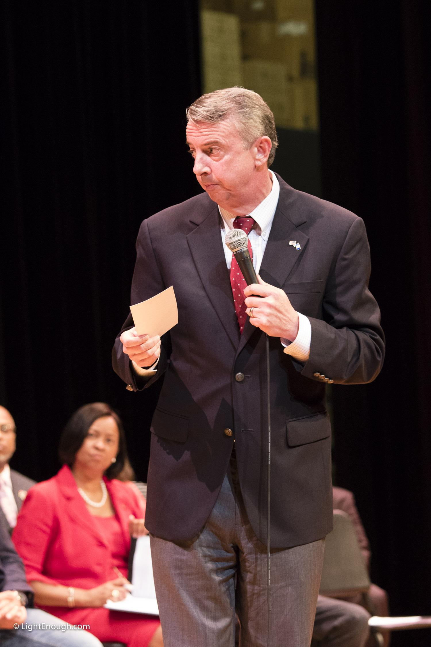 VOICE Action w VA gubernatorial Candidates October 2017.