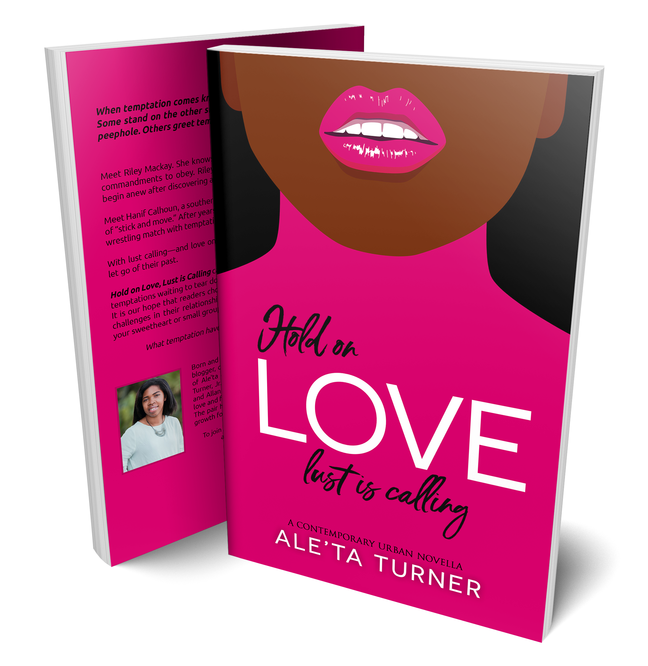 Hold on Love Book Cover_Aleta Turner 3D