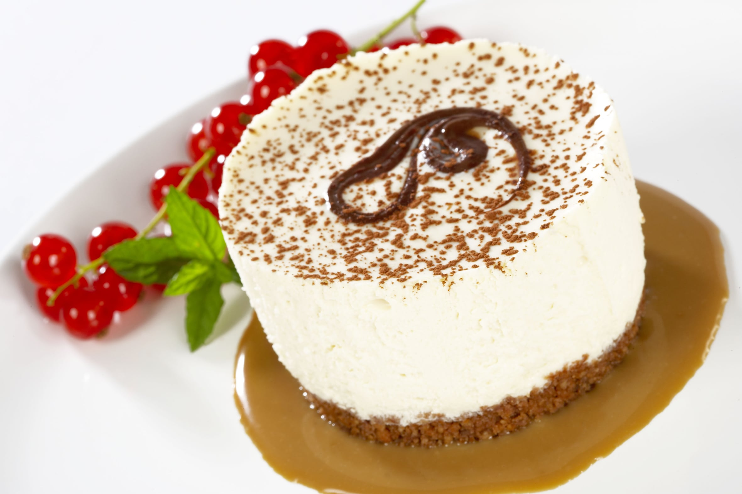 The Skinny Chef Desserts - Caramel Swirl