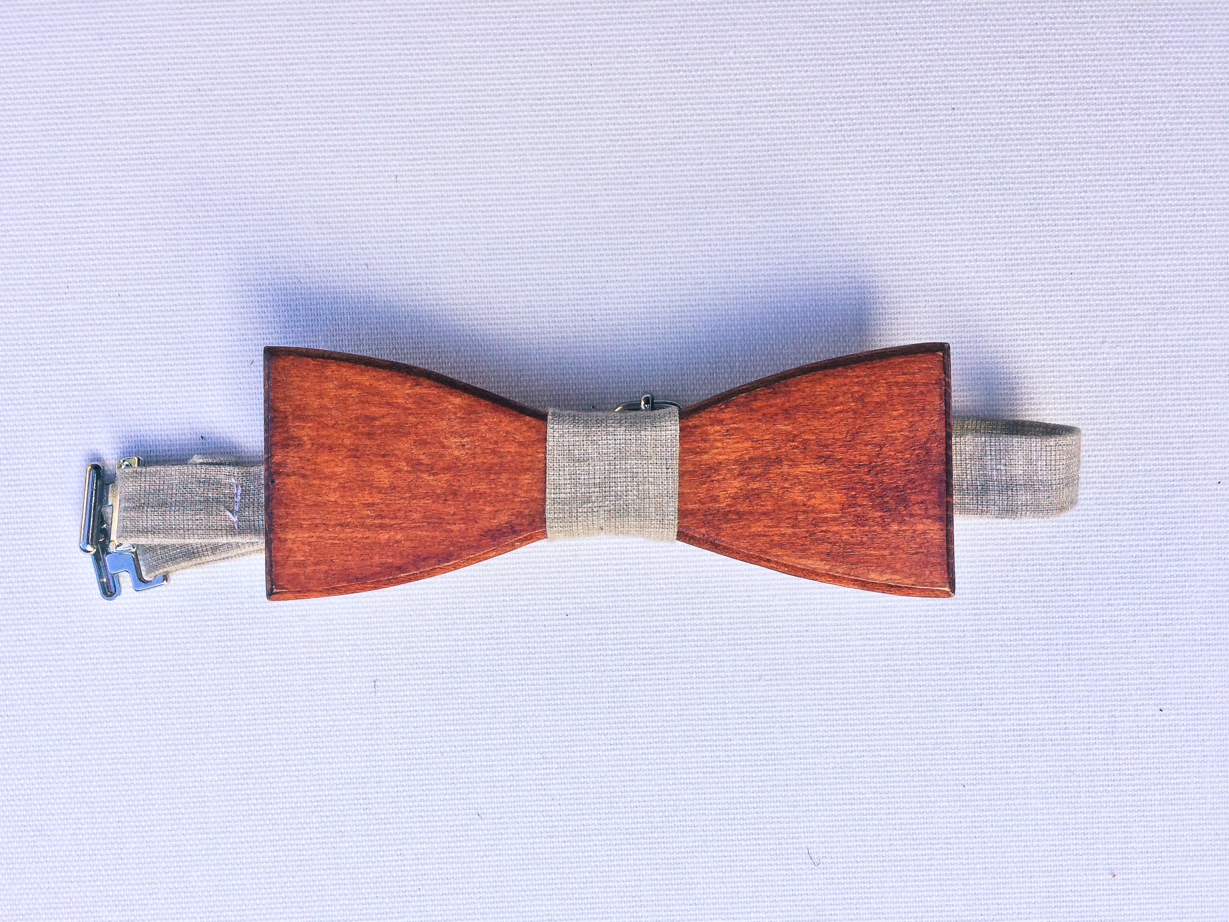 James' emergency bow tie. We are unsure exactly where this one came from, similar can be found on etsy.com