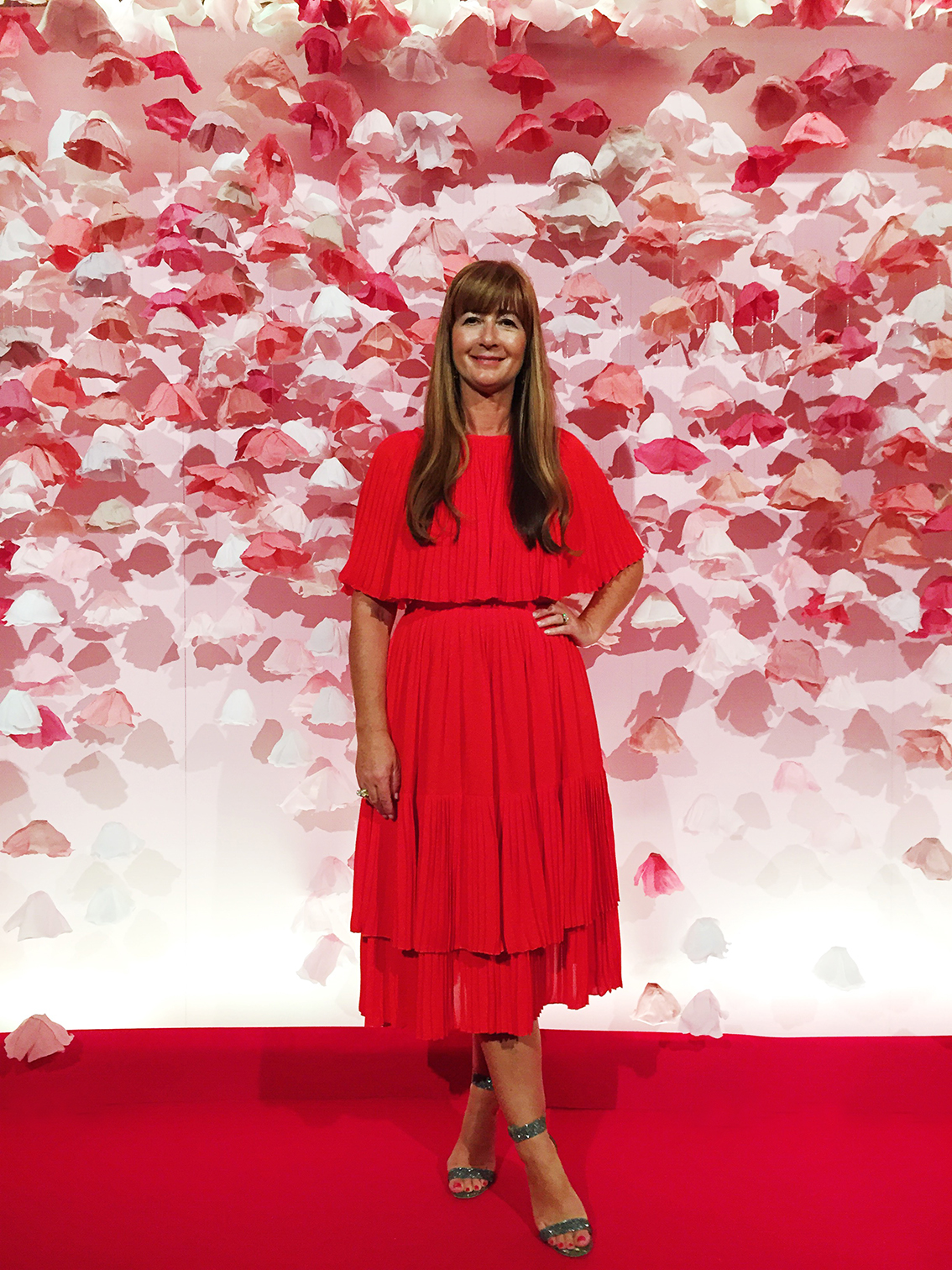 Hello Sandwich for Kate Spade FLoral Backdrop Deborah Llyod