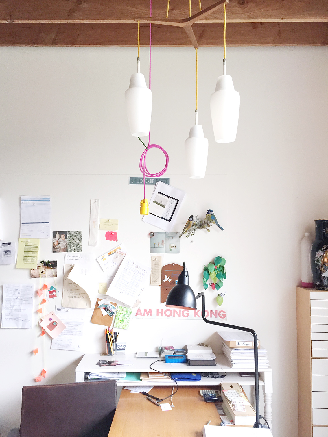 Mieke's studio