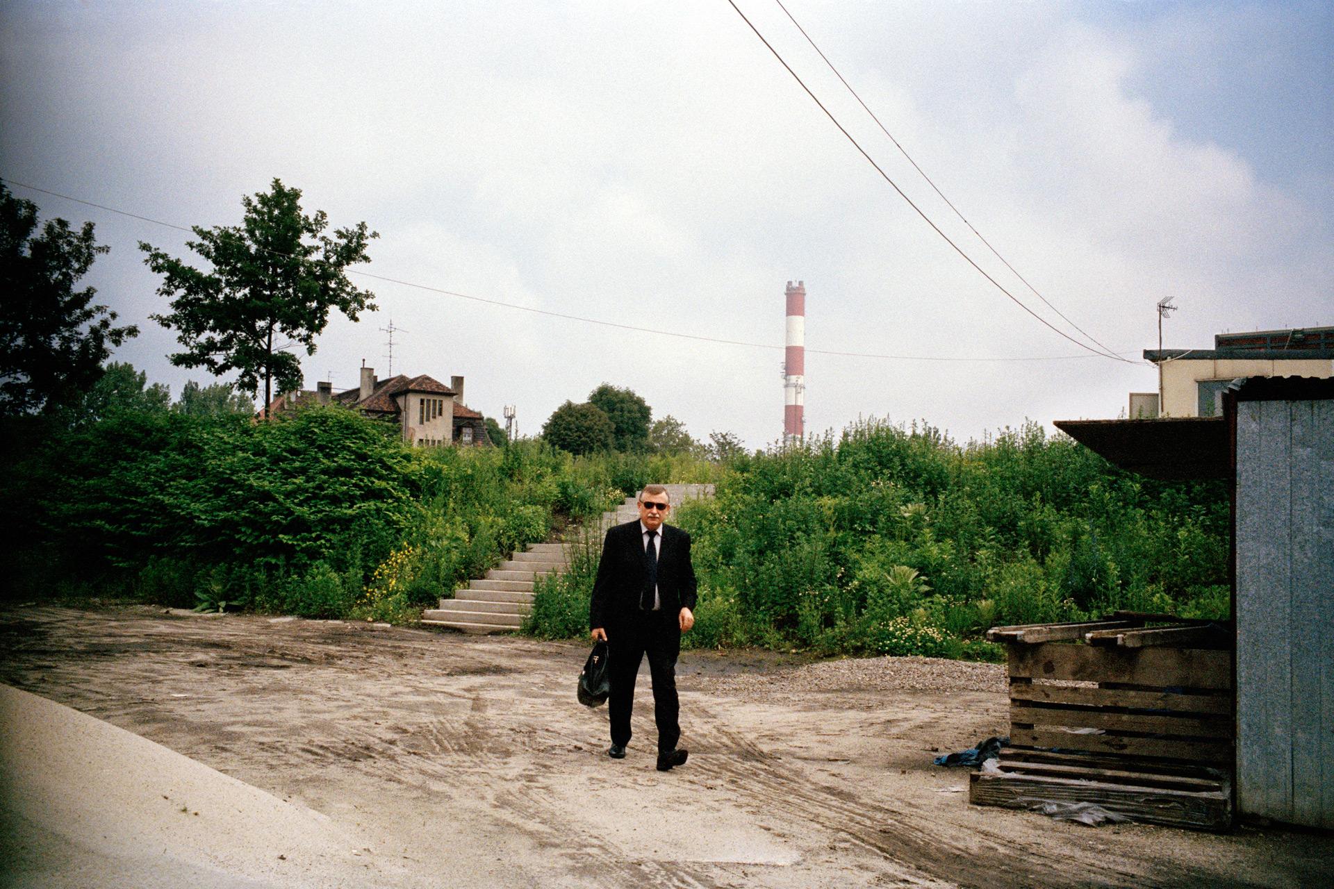 Luiza, mine de charbon désaffectée. Zabrze, agglomération de Katowice, Haute Silésie, Pologne. Juin 2013