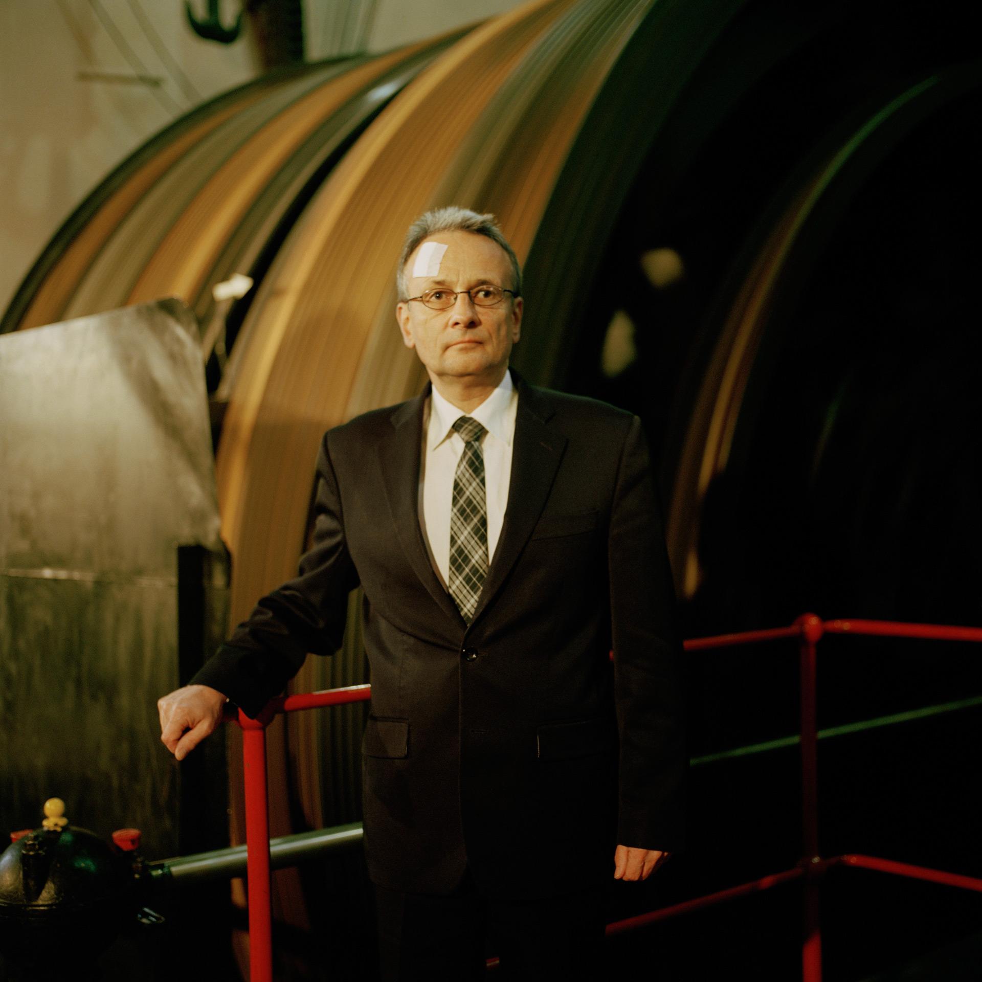 Marek Dmitriew (né en 1959), directeur du musée de la mine de Guido. Zabrze. 2013
