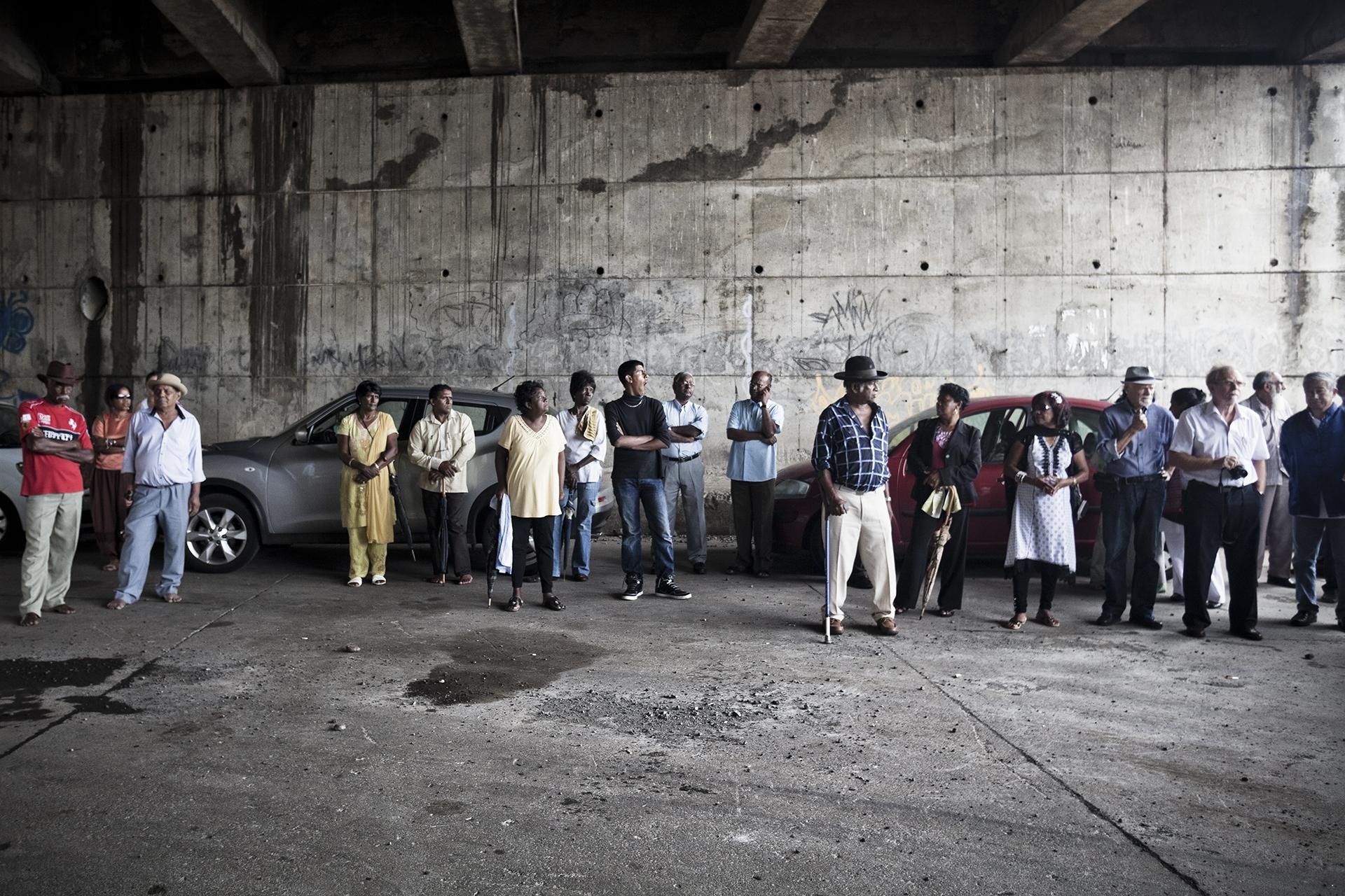 Journée en mémoire des engagés au Lazaret, La Grande Chaloupe. Dans le cadre de la Journée en mémoire des engagés du 11 novembre, une manifestation culturelle est organisée chaque année sur le site du Lazaret à l'initiative de la Fédération Tamoule de la Réunion. Toutes les communautés d'engagés sont invitées pour l'évènement.