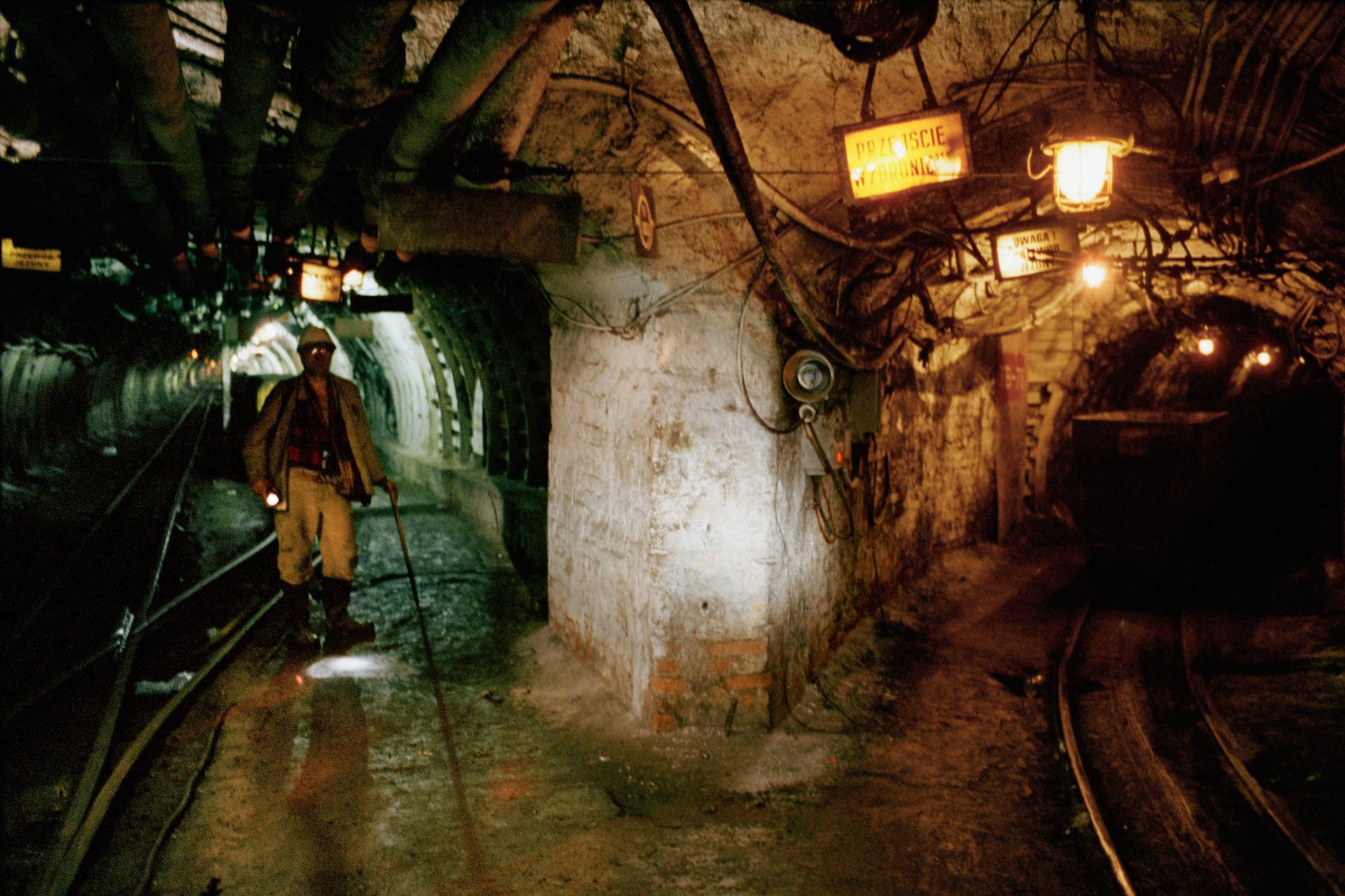 Mine de charbon de Giszowiec, site en activité. Pologne, 2013