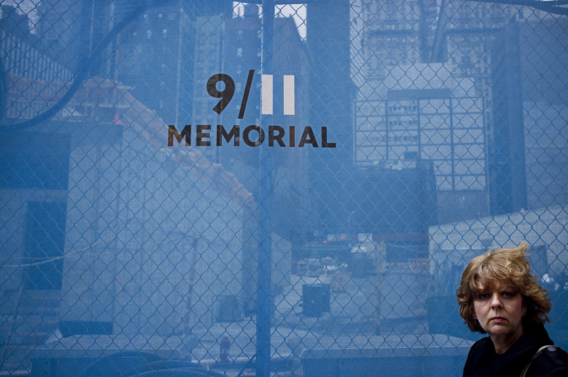 NEW YORK 9/11 MEMORIAL GROUND ZERO DANS LE QUARTIER DE WALL STREET
