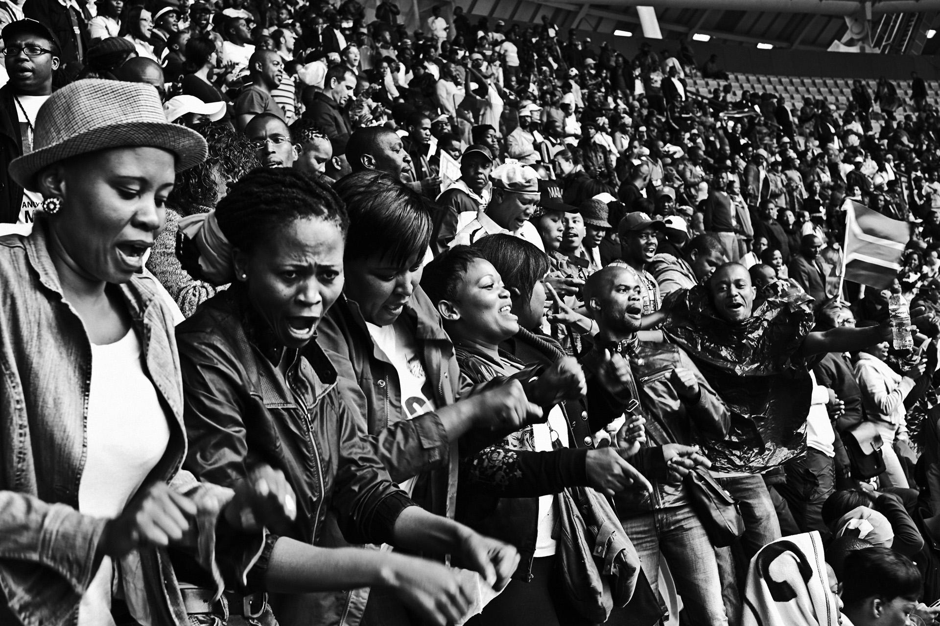 Funerailles Nelson Mandela Afrique du Sud decembre 2013