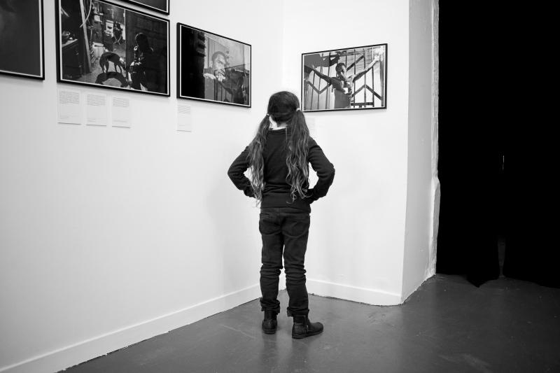 ATELIER ITEM EXPO L AUTRE GUERRE DE MIQUEL DEWEVER PLANA FEVRIER 2014 VERNISSAGE GRENADINE ET CHAMALLOW