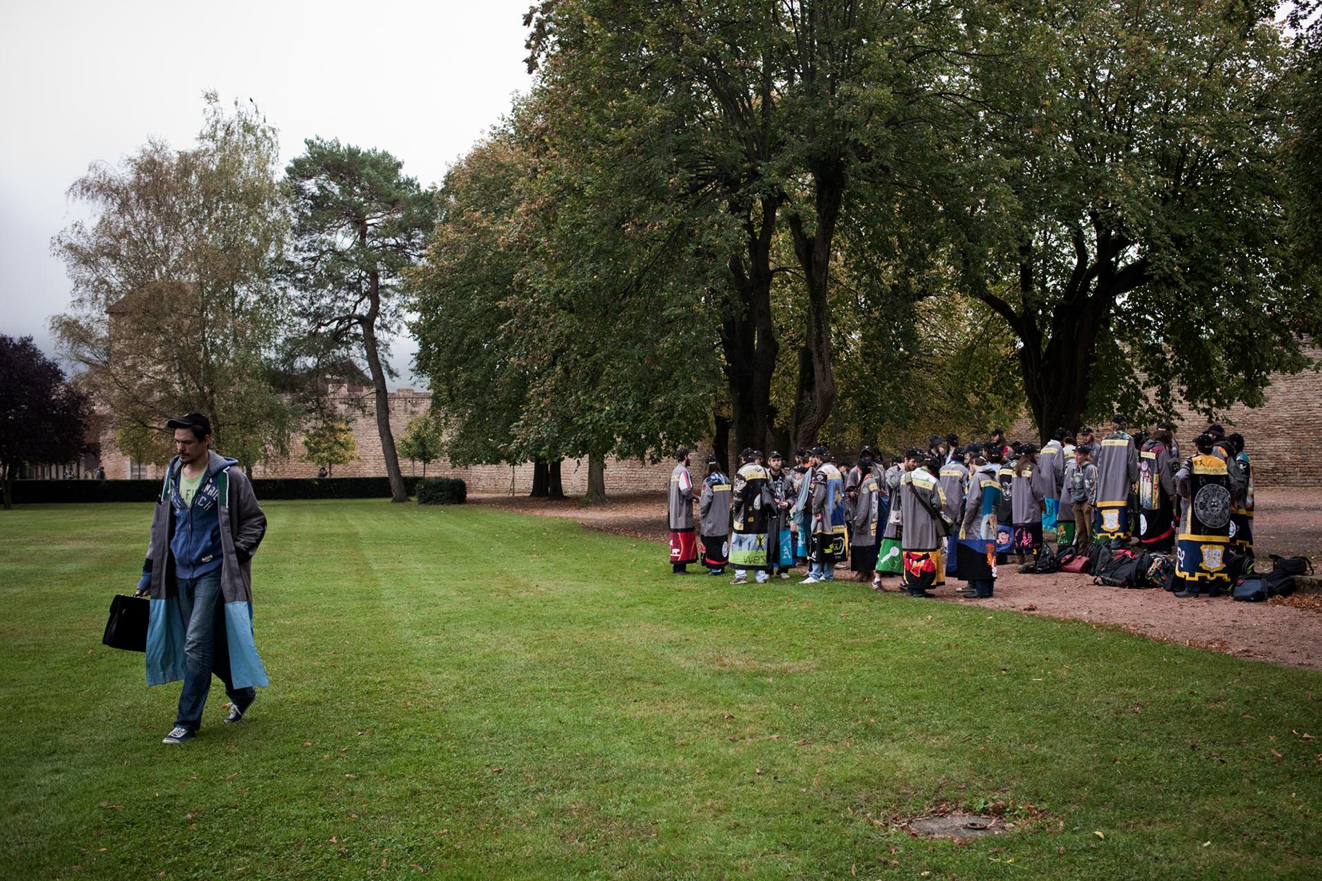 Arts et Métiers Paris Tech, CER de Cluny. Octobre 2012.