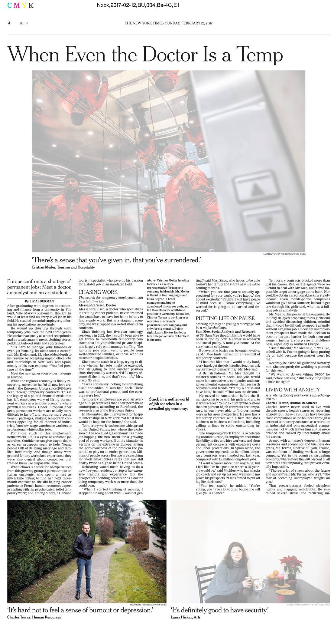 New York Times / Hugo Ribes