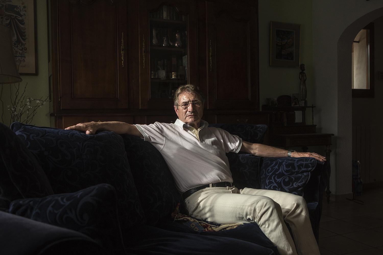 Belin-Beliet, le 15 mai 2017. Jacques Carmé est conseillé municipal de l'opposition (PS).