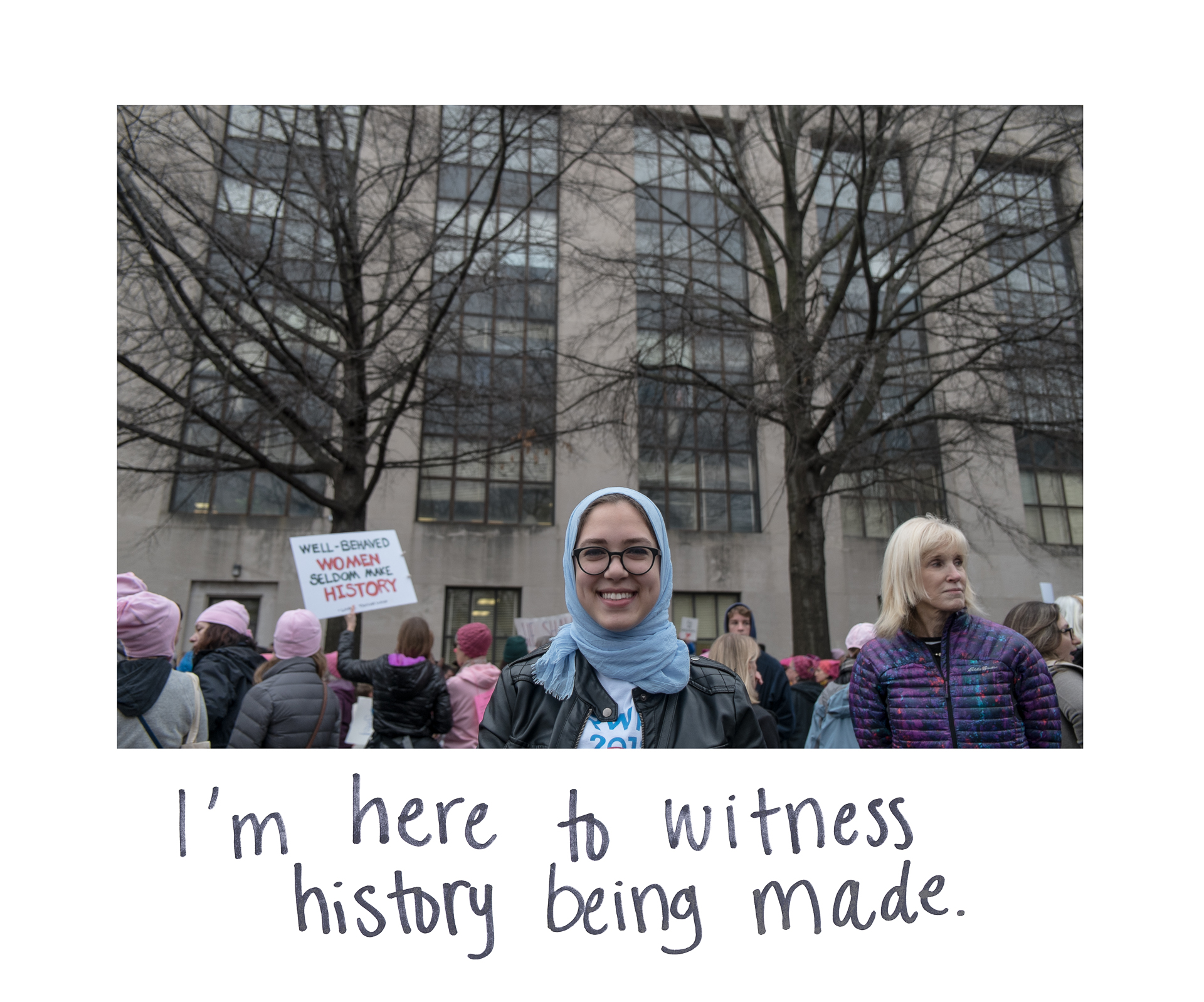 Women's March on Washington / Marche des femmes sur Washington
