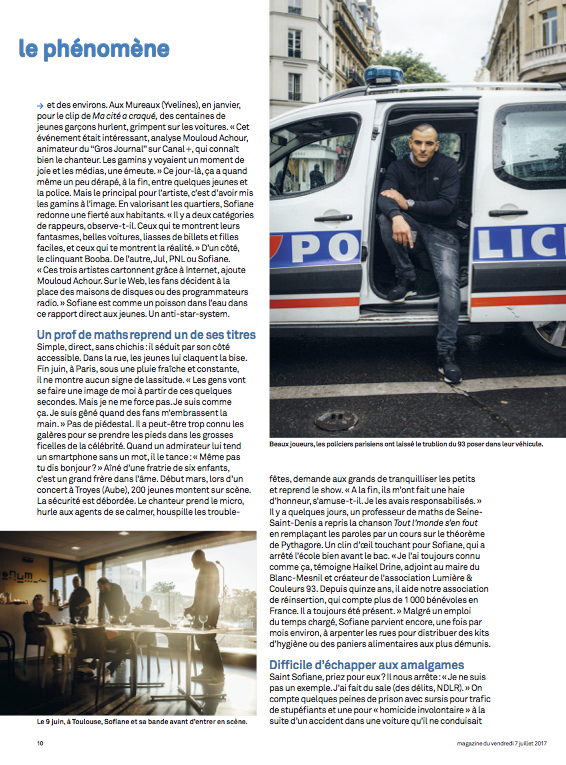 Le Parisien Magazine / Cyril Marcilhacy / juillet 2017