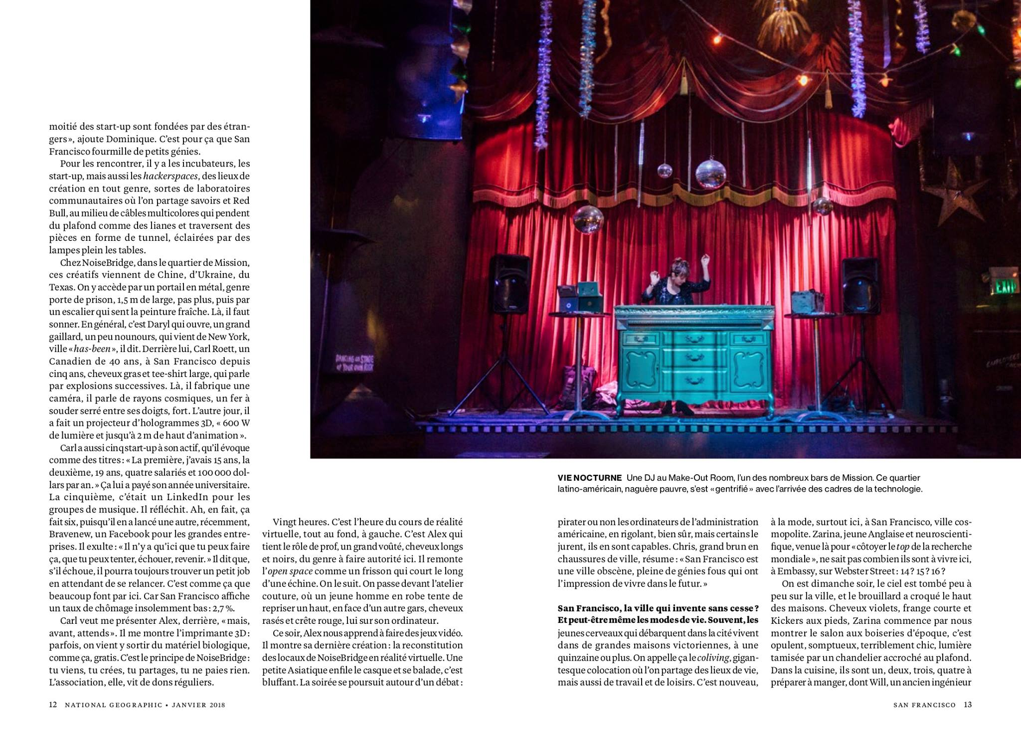 National Geographic France / Cyril Marcilhacy / Janvier 2018