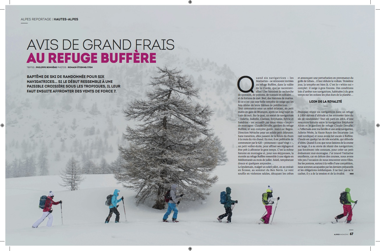 Alpes Magazine / Romain Etienne