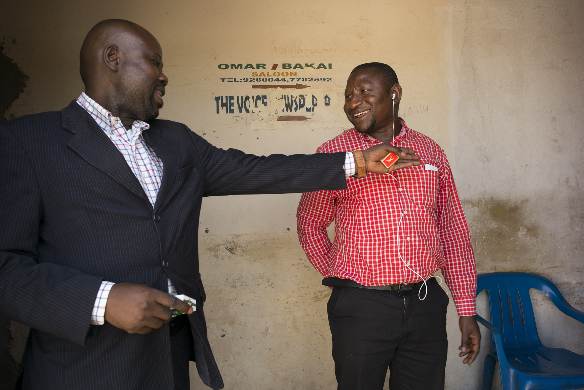 """The Voice"" office. Serrekunda, Gambia. January 2018